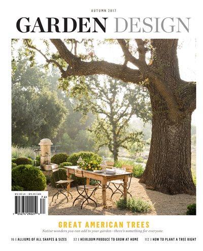 Planting oak trees garden design for Garten design magazin