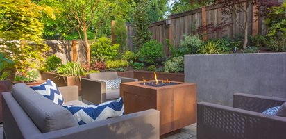 Using Corten Steel | Garden Design