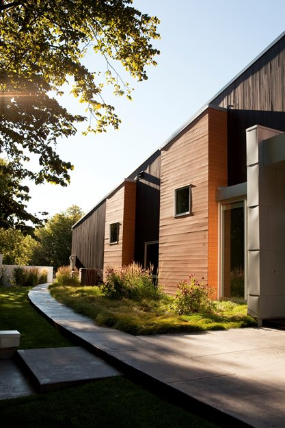 Modern Home Strikes a Balance Between Indoors & Out Land Elements Fargo, ND