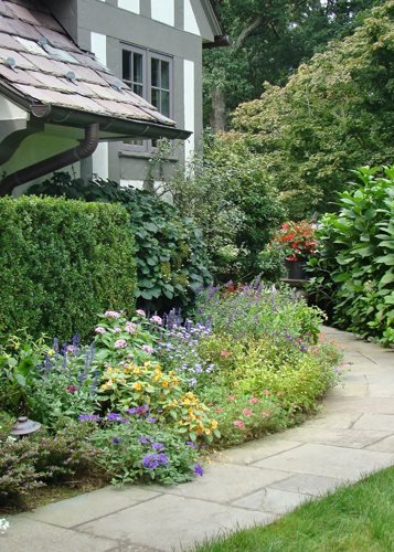 cottage garden design ideas  garden design, Natural flower