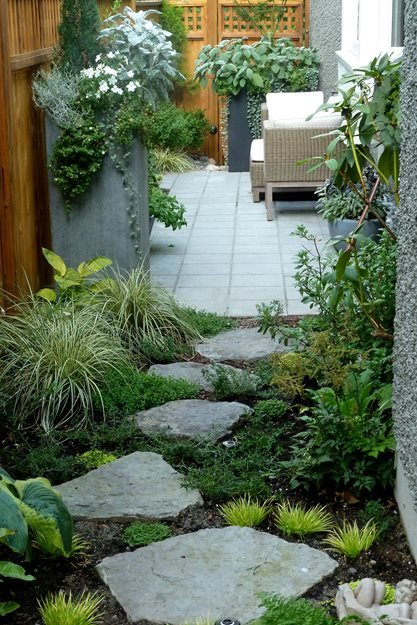 Planters and Pathways | Garden Design