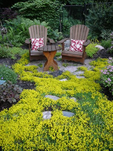 Informal Reading Area Candace Mallette Landscape & Garden Design Ottawa, ON