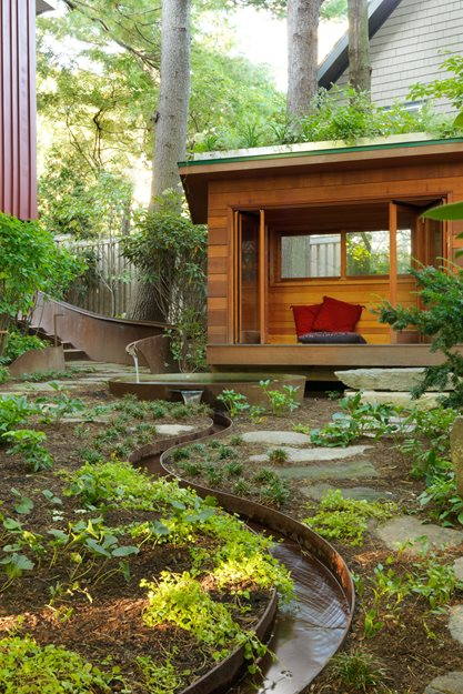 Modest Meditation Garden Design