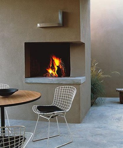 Backyard Fire Pits And Fireplaces Garden Design