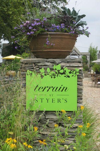 Terrain Entry Sign Garden Design Calimesa, CA