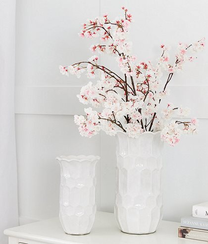 Cherry Blossoms and Vase