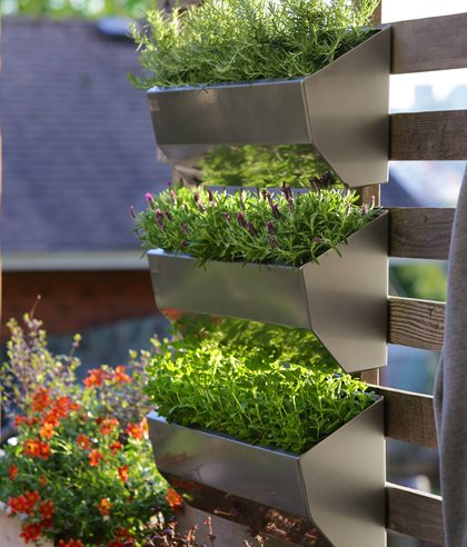 Leo Wall Planters, Vertical Garden Pot Incorporated Vancouver, BC