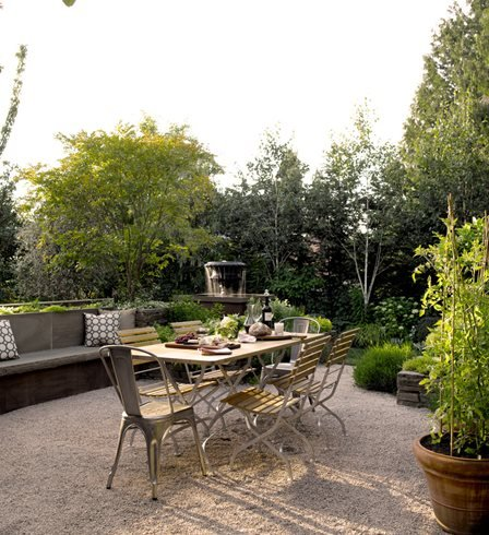 Outdoor Dining, Small Garden Scot Eckley Inc. Seattle, WA