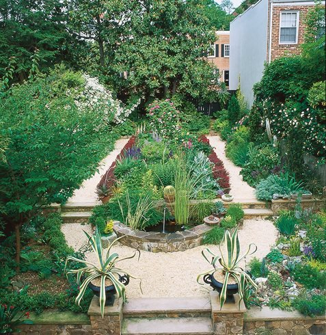 Transform a small garden in 7 simple steps garden design for Formally designed lawn