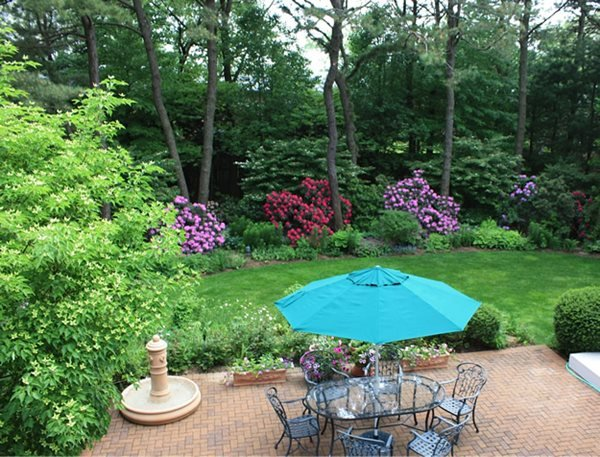 My Garden: A Cool, Quiet Corner of the World Robert Khazzam (Homeowner) Dix Hills, NY
