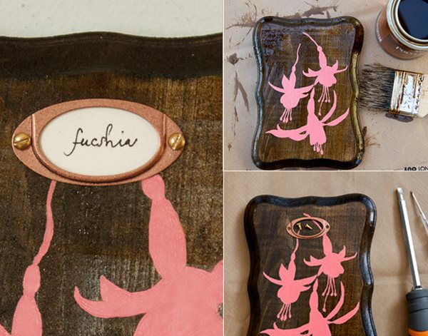 DIY Silhouettes, Air Plants & Wooden Plaques Garden Design Calimesa, CA