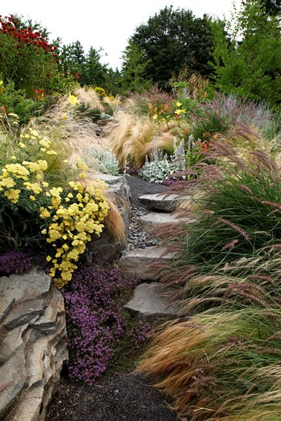 """Dream Team's"" Portland Garden Garden Diva Designs Hillsboro, OR"