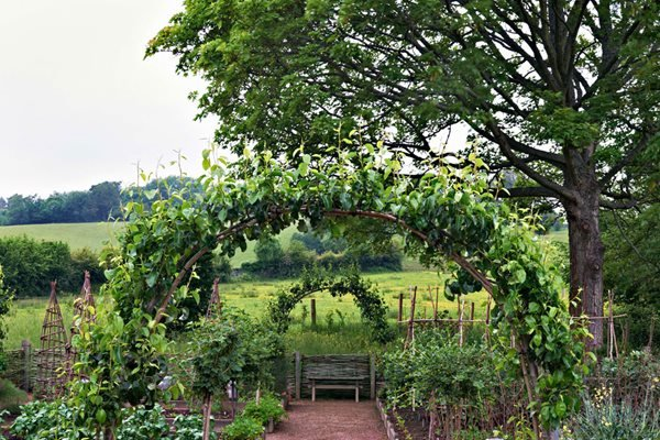 Edible Garden Pictures Arne Maynard London, England