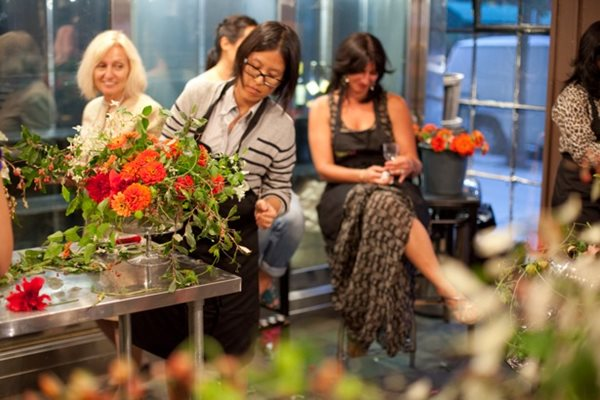 FlowerSchool New York: Master Class with Ariella Chezar Garden Design Calimesa, CA