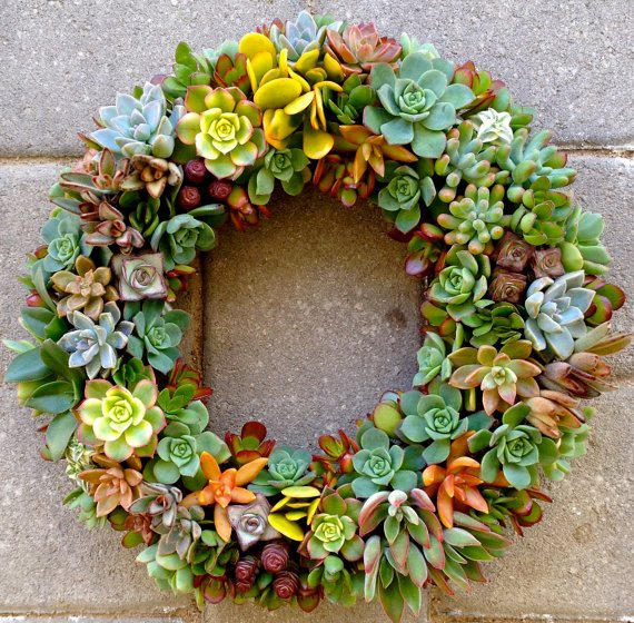 Exceptional Fall Décor, Wreath From The Garden Wreaths For Holiday Decorating:  Slideshow Garden