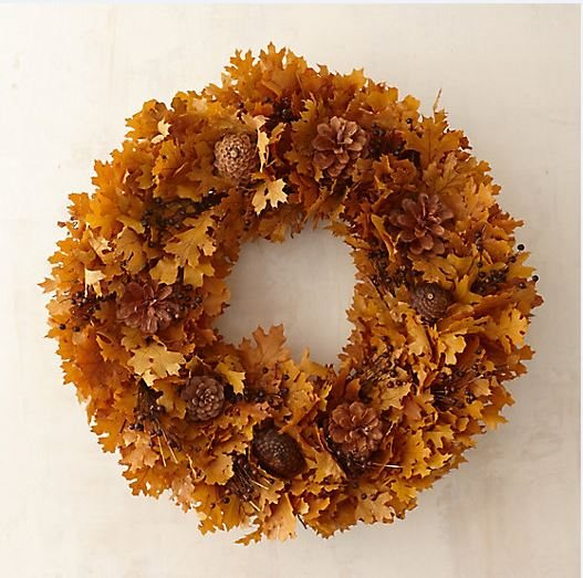 Fall Décor, Wreath, Forest Wreath From-the-Garden Wreaths for Holiday Decorating: Slideshow Garden Design Calimesa, CA