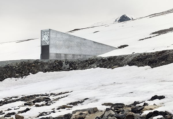 Greg White's Photographs of the Svalbard Seed Vault Garden Design Calimesa, CA