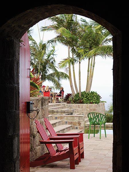 Helen And Brice Mardenu0027s Caribbean Hotel, Slide Show Garden Design  Calimesa, ...
