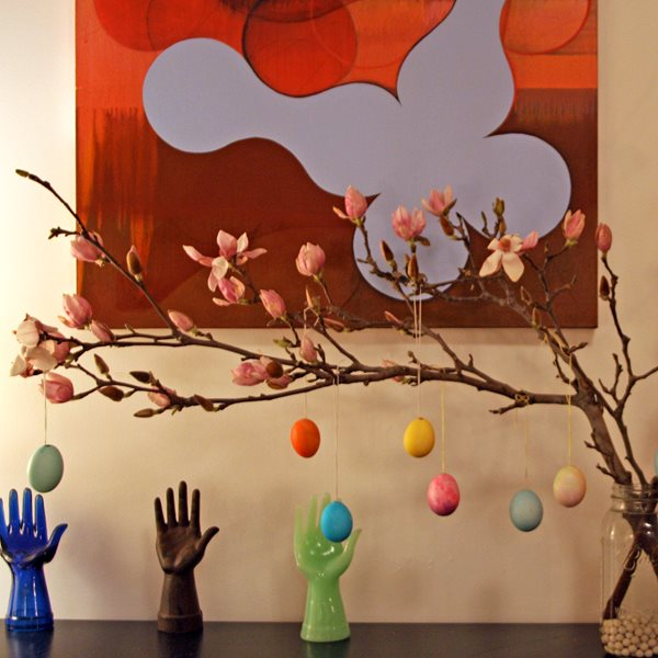 How To Make An Easter Tree Garden Design Calimesa, CA