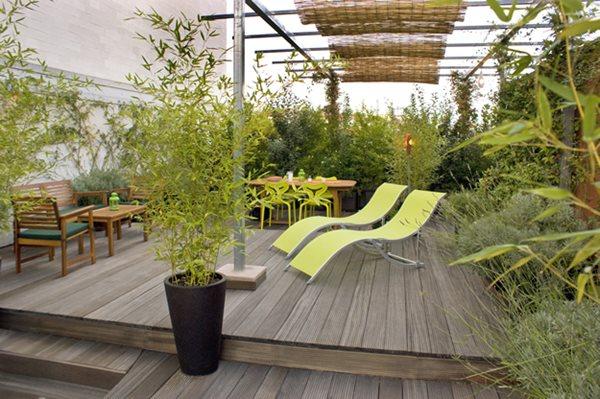 Italy: Green Terrace Roof Garden Garden Design Calimesa, CA Part 69