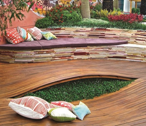 "Jamie Durie's ""The Outdoor Room"" Garden Design Calimesa, CA"