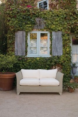 Loom: Woven Paper — Furniture by JANUS et Cie Garden Design Calimesa, CA