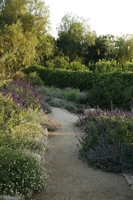 Mary Steenburgen and Ted Danson's Ojai, California Garden Garden Design Calimesa, CA
