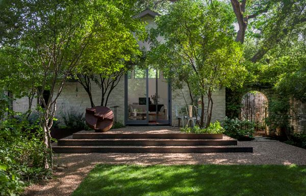Exceptional Pea Gravel, Garden Steps, Weathered Steel Residential Retreat In Austin Ten  Eyck Landscape Architects Pictures