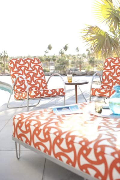 Style Showcase: Outdoor Fabric, Indoor Style Garden Design Calimesa, CA