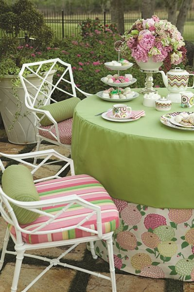 Swatch Watch: Pretty in Pink Garden Design Calimesa, CA