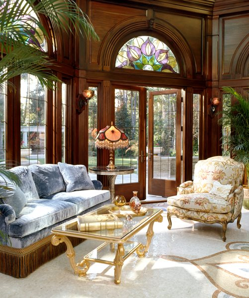 Large Gardens Estates: Tanglewood Conservatories' Historic Replicas