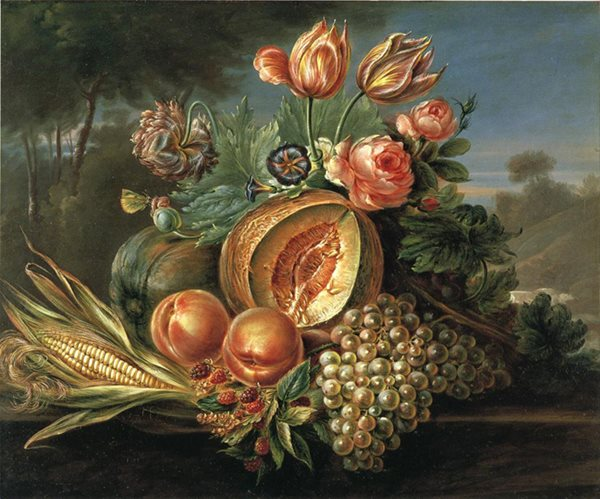 Art & Botany: The Drama of Fruit & Flora Garden Design Calimesa, CA