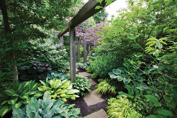 Shade Garden Designs creating a shade garden garden design calimesa ca Toronto Shade Garden Marjorie Harris Designs Toronto On