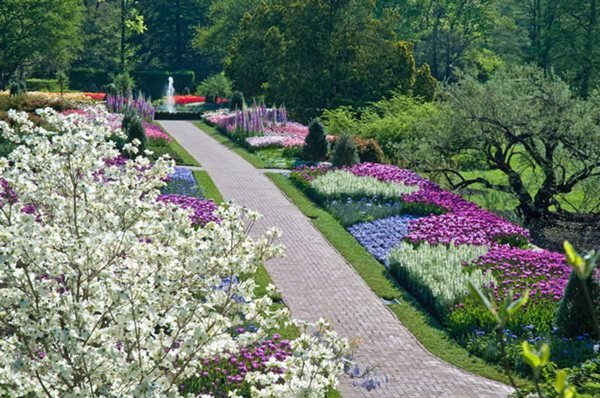 Visit spring blooms at longwood gardens gallery for Landscaping longwood