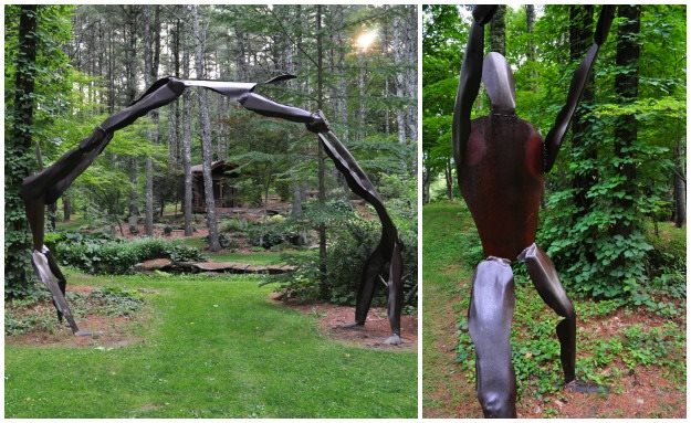 "04_acrobat_arbor ""Dream Team's"" Portland Garden Garden Design Calimesa, CA"