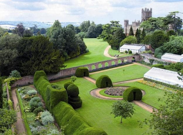 The Gardens of Downton Abbey | Garden Design