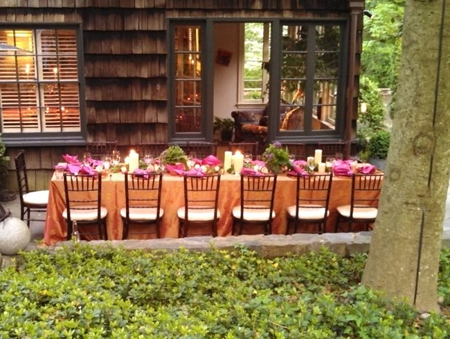 "Garden Dinner Party ""Dream Team's"" Portland Garden Garden Design Calimesa, CA"