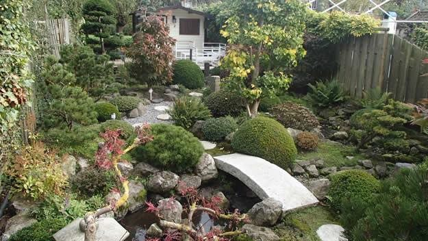 overall japanese garden dream teams portland garden garden design