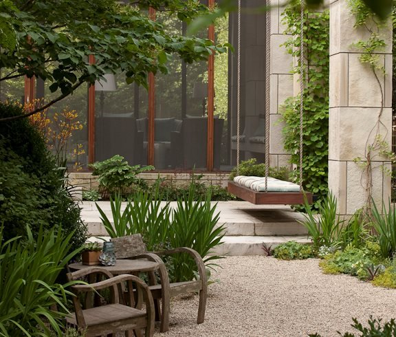 hoerr schaudt garden in chicagos lincoln park hoerr schaudt chicago - Garden Design Trends 2017