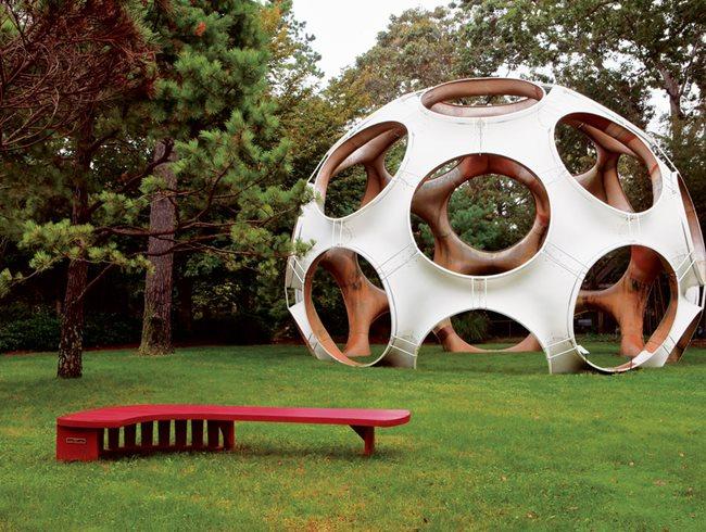 jack lenor larsen 39 s longhouse reserve garden design. Black Bedroom Furniture Sets. Home Design Ideas