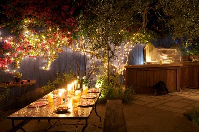 Laura Morton's Moorish-Inspired Outdoor Kitchen | Garden ... on Magical Backyard Ideas id=58013