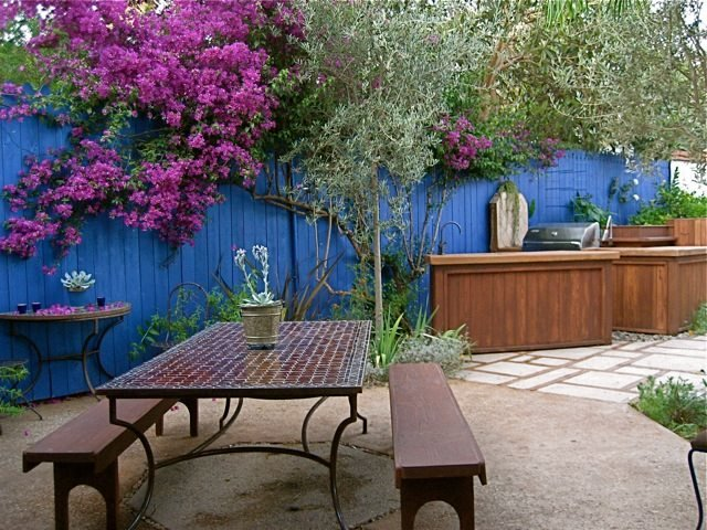 Laura Morton Creates a Magical Outdoor Space Garden Design Calimesa, CA