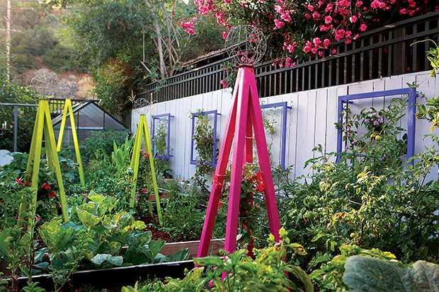 arbors trellises and the edible garden garden design