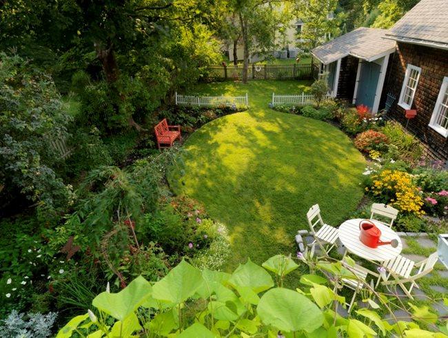 Backyard Landscape Garden Design Calimesa, CA
