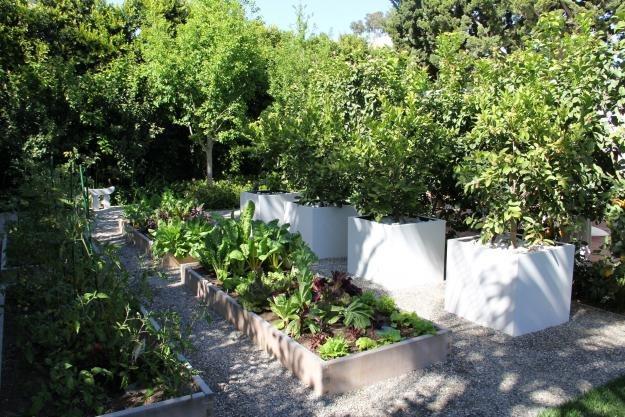 Citrus Planters Hart Concrete Design Costa Mesa, CA