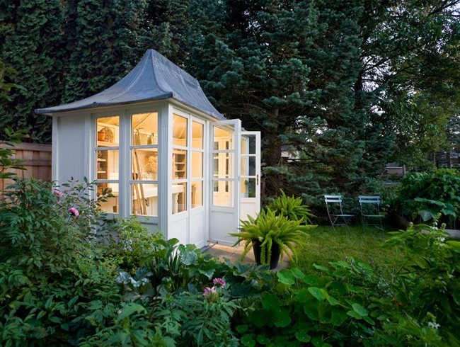 Custom Shed, Garden Shed Ron Beining ,