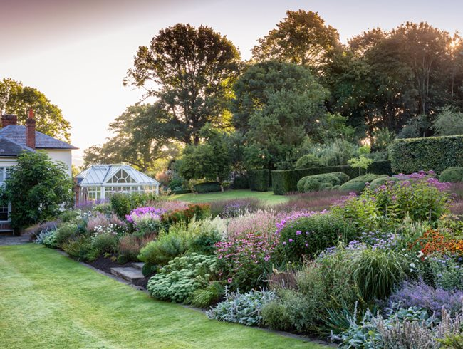 English Garden, Perennial Border Jeremy Allen Garden Design