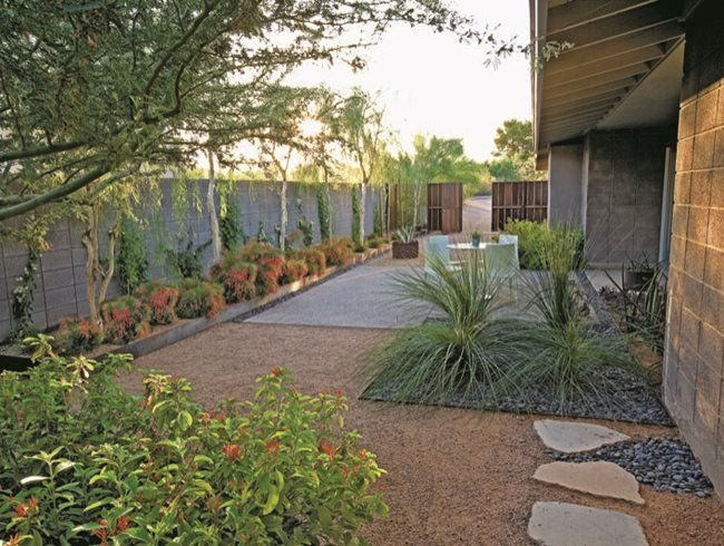 Desert paradise garden design - Mexican style patio design ...