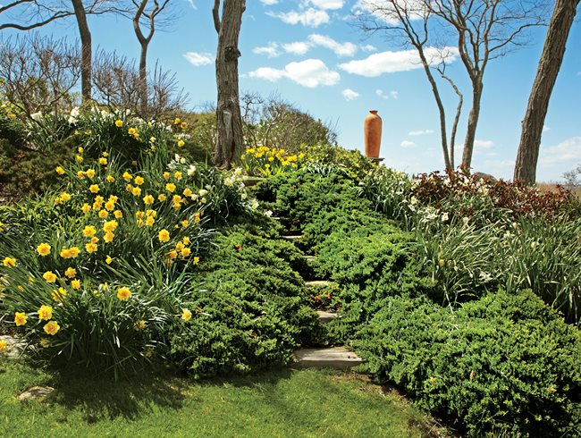 Tom Armstrong S Fishers Island Home Garden Design