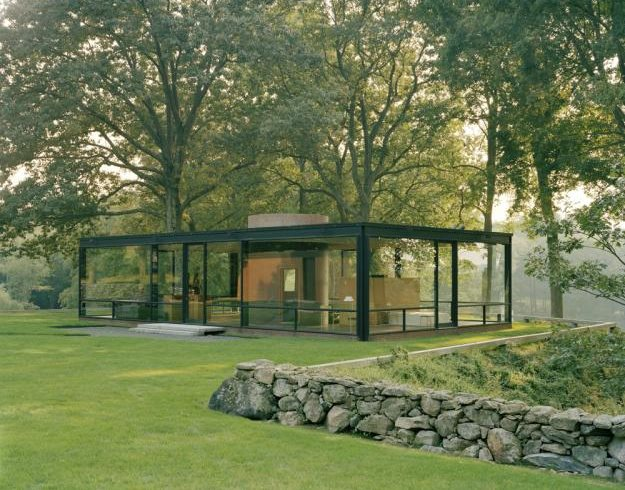 inspiration point philip johnson 39 s glass house garden design. Black Bedroom Furniture Sets. Home Design Ideas